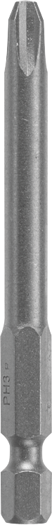 27365 2-3/4 In. Extra Hard Phillips Round Body Power Bit, P3 Point