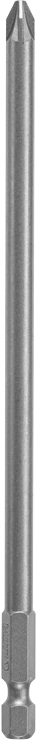 27391 6 In. Pozidriv® PZ3 Point Power Bit (Bulk)