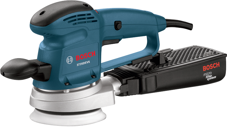 3725DEVS 5 In. Electronic Variable Speed Random Orbit Sander/Polisher