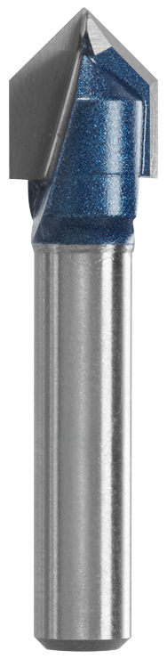 84300MC 3/8 In. x 7/16 In. Carbide-Tipped V-Groove Router Bit