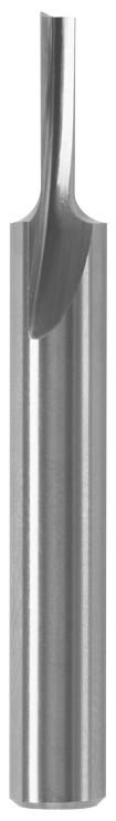 85209MC 1/8 In. x 7/16 In. Solid Carbide Single-Flute Straight Router Bit