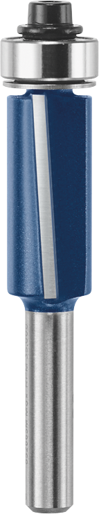 85266M 1/2 In. x 1 In. Carbide Tipped 2-Flute Flush Trim Bit