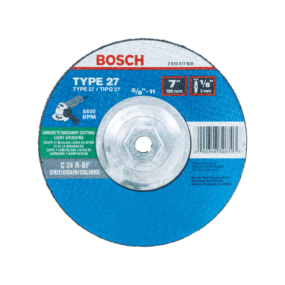 Metal Cutting, Grinding & Brushing Accessories | Bosch Power Tools
