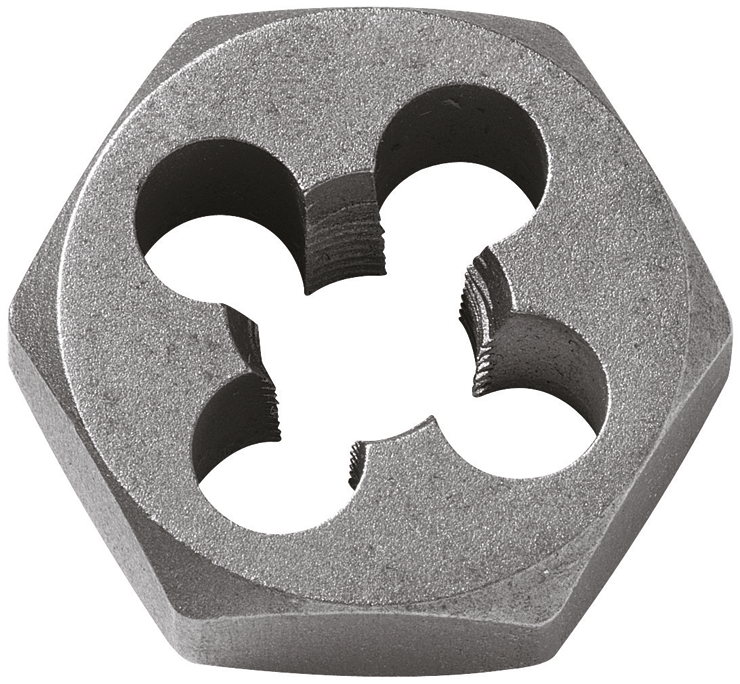 BHD516F18 5/16 In. - 18 High-Carbon Steel Fractional Hex Die