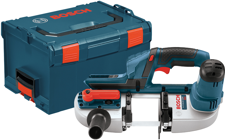 BSH180BL 18 V Compact Cordless Band Saw - Tool Only with L-BOXX3