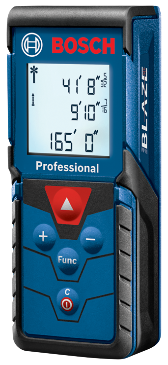 GLM165-40 BLAZE™ Pro 165 Ft. Laser Measure