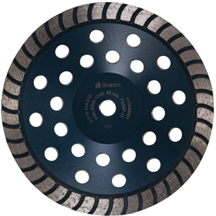 DC730H 7 In. Turbo Row Diamond Cup Wheel