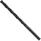 BL4008 12 pc. 8 Dia. x 3-5/8 In. Wire Gauge Black Oxide Drill Bits