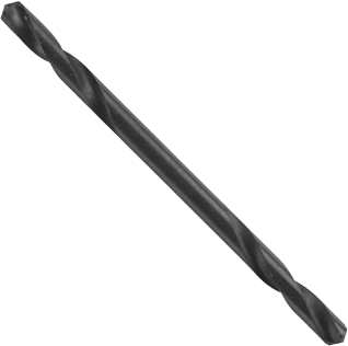 BL6134 12 pc. 7/64 In. x 1-15/16 In. Fractional Double-End Black Oxide Bits