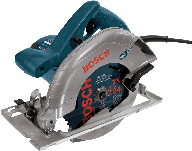 CS5 7-1/4 In. 15 A Left Blade Circular Saw