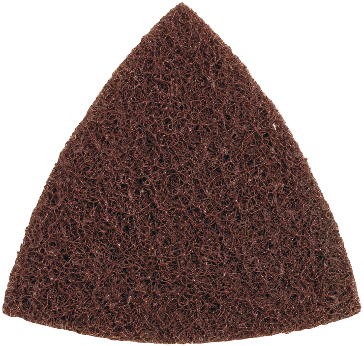 CS101 3-1/2 In.Coarse Triangle Finishing Pad