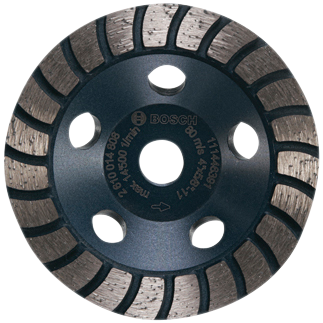 DC430H 4 In. Turbo Row Diamond Cup Wheel