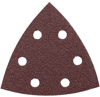 SDTR060 3-1/2 In. 60 Grit 5 pc. Detail Sander Abrasive Triangles for Wood