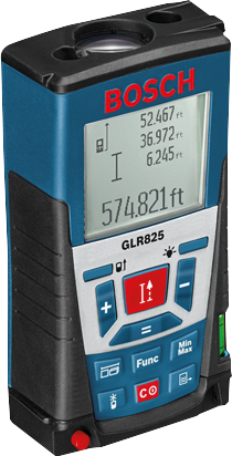GLR 825 Laser Distance Measurer