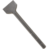 HS1816 1-1/2 In. x 12 In. Scaling Chisel Tool Round Hex/Spline Hammer Steel