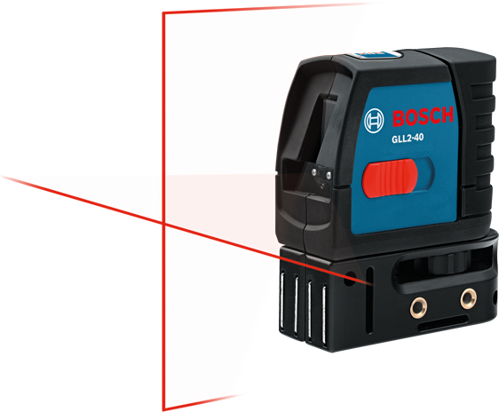 GLL 2-40 Self-Leveling Cross Line Laser