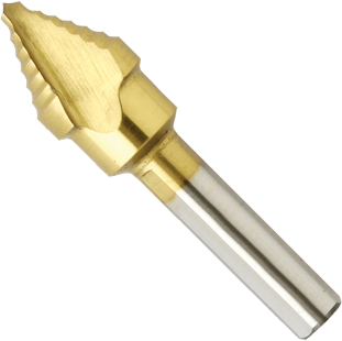 SDT8 1/2 In. Titanium-Coated Step Drill Bit