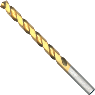 TI2150 23/64 In. x 4-7/8 In. Titanium-Coated Drill Bit