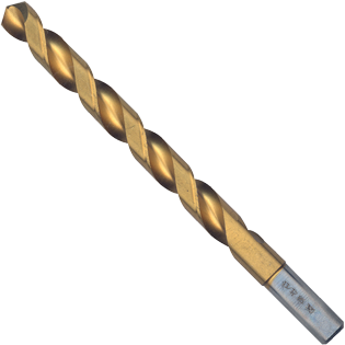 TI2153 13/32 In. x 5-1/4 In. Titanium-Coated Drill Bit