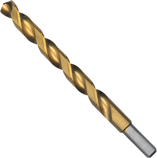 TI2156 29/64 In. x 5-5/8 In. Titanium-Coated Drill Bit