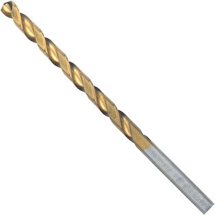 TI4140 12 pc. 13/64 In. x 3-5/8 In. Titanium-Coated Drill Bit