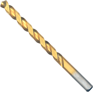 TI2148 21/64 In. x 4-5/8 In. Titanium-Coated Drill Bit