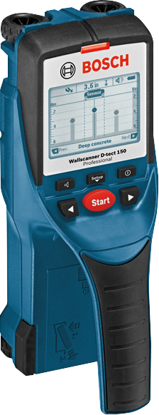 D-TECT 150 Wall/Floor Scanner with Ultra Wide Band Radar Technology