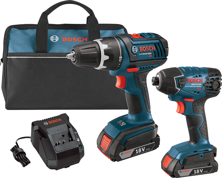 CLPK232-181 18 V Lithium-Ion 2-Tool Combo Kit with 1/2 In. Drill/Driver and 1/4 In. Hex Impact Driver