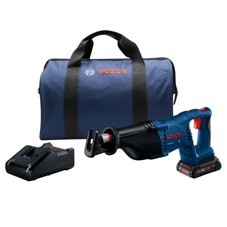 CRS180-B15 18V 1-1/8 In. D-Handle Reciprocating Saw Kit with (1) CORE18V 4.0 Ah Compact Battery