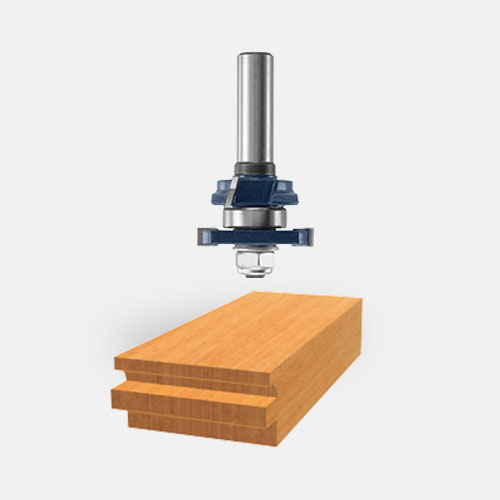 Carbide-Tipped Beading Stile and Rail Router Bits