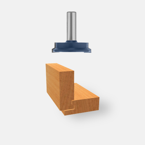 Carbide-Tipped Drawer Lock Joint Bit