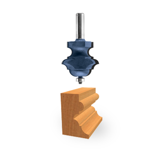 Carbide-Tipped Multi-Form Bit