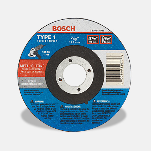 Cutting  Wheels For Angle Grinders / Type 1A