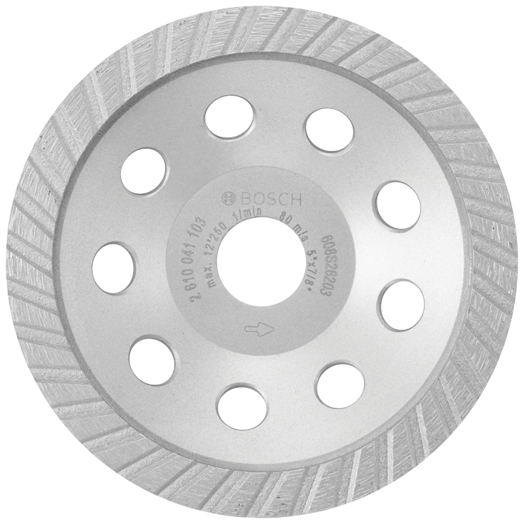 DC530SG 5 In. Turbo Diamond Cup Wheel for Concrete