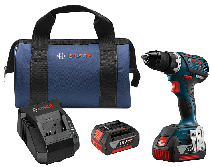 DDS183-01 18V EC Brushless Compact Tough 1/2 In. Drill/Driver Kit