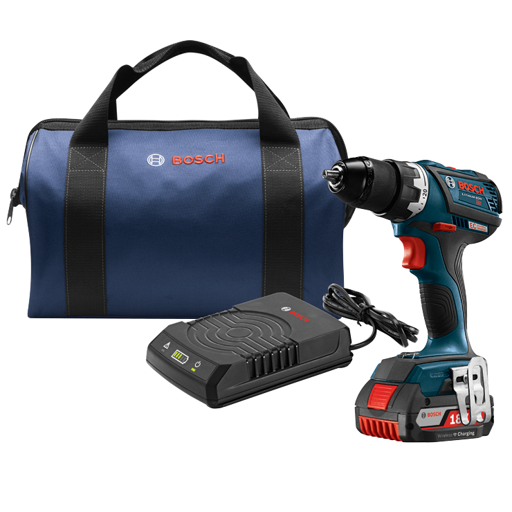 DDS183WC-102 18V EC Brushless Compact Tough 1/2 In. Drill/Driver Wireless Charging Kit