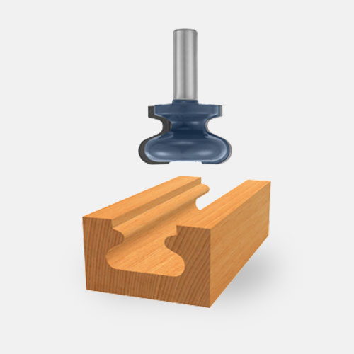 Door and Drawer Edge Router Bits