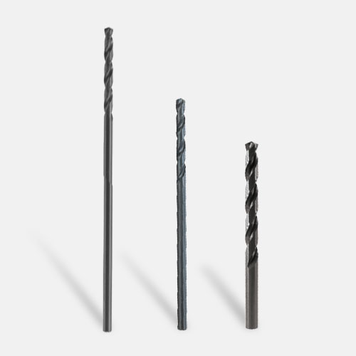 Extra Length (Aircraft) Black Oxide Drill Bits