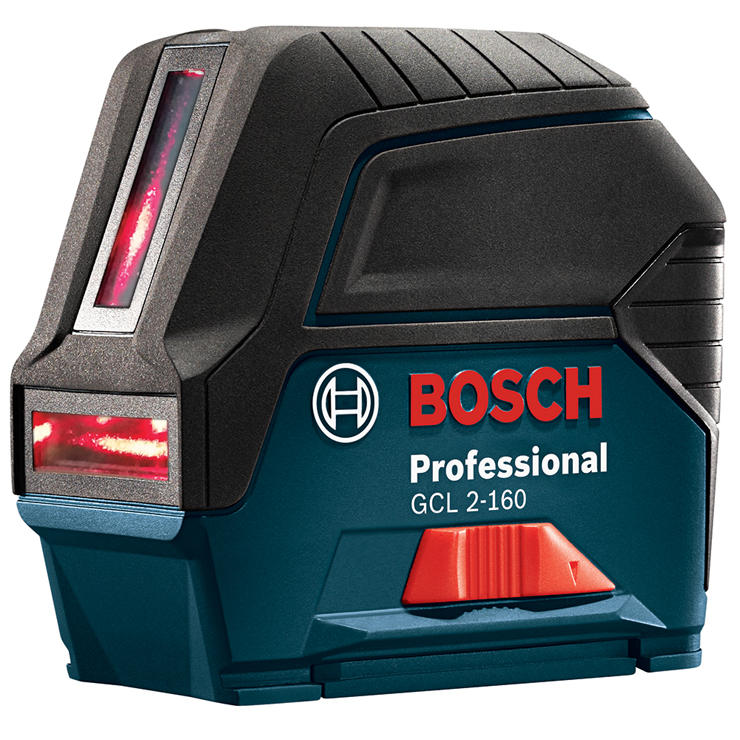 GCL 2-160 + LR 6 Self-Leveling Cross-Line Laser with Plumb Points and L-Boxx® Carrying Case