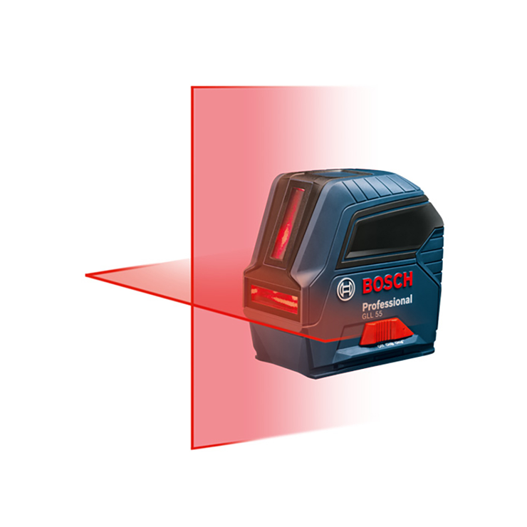 GLL 55 | Self-Leveling Cross-Line Laser | Bosch Power Tools