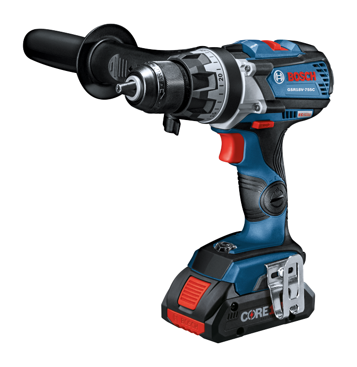 GSR18V-755C Overview 18V EC Brushless Connected-Ready Brute Tough 1/2 In. Drill/Driver
