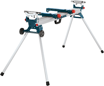 GTA3800 Folding-Leg Miter Saw Stand with Wheels