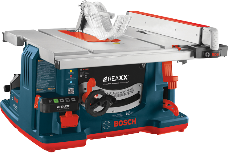 Gts1041a 10 In Reaxx Jobsite Table Saw Bosch Power Tools