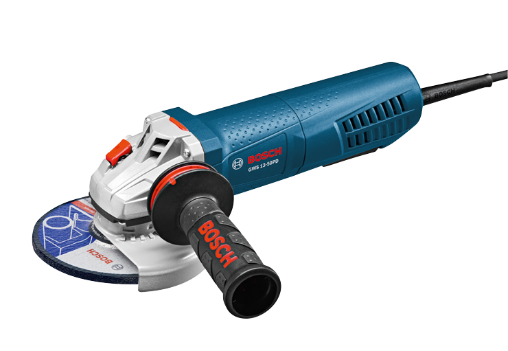 GWS13-50PD 5 In. Angle Grinder with No-Lock-On Paddle Switch