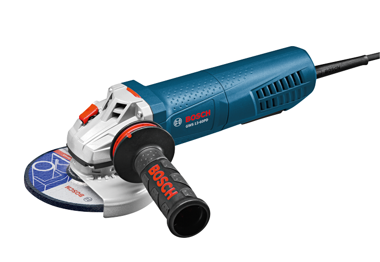 GWS13-60PD 6 In. High-Performance Angle Grinder with No-Lock-On Paddle Switch