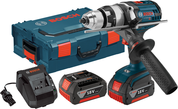HDH181X-01L 18 V Brute Tough™ 1/2 In. Hammer Drill/Driver with L-Boxx® Carrying Case
