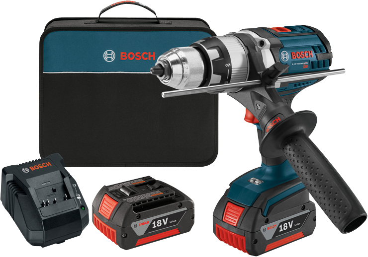 HDH181X-01 18 V Brute Tough™ 1/2 In Hammer Drill/Driver Kit with KickBack Control
