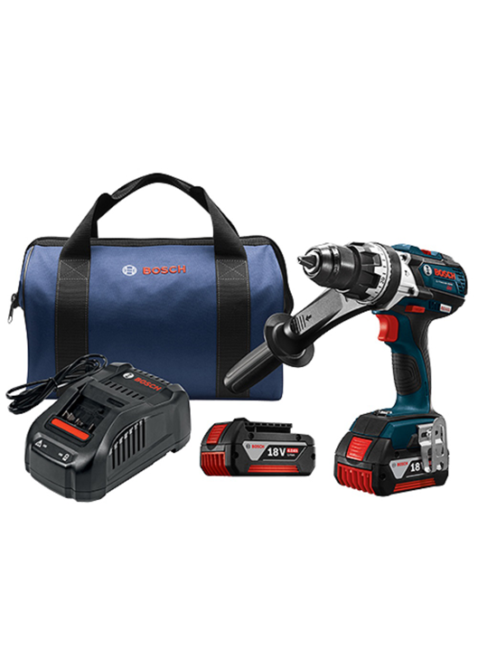 HDH183-01 18V EC Brushless Brute Tough 1/2 In. Hammer Drill/Driver Kit
