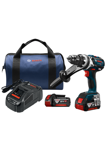 HDH183-01 18 V EC Brushless Brute Tough 1/2 In. Hammer Drill/Driver Kit