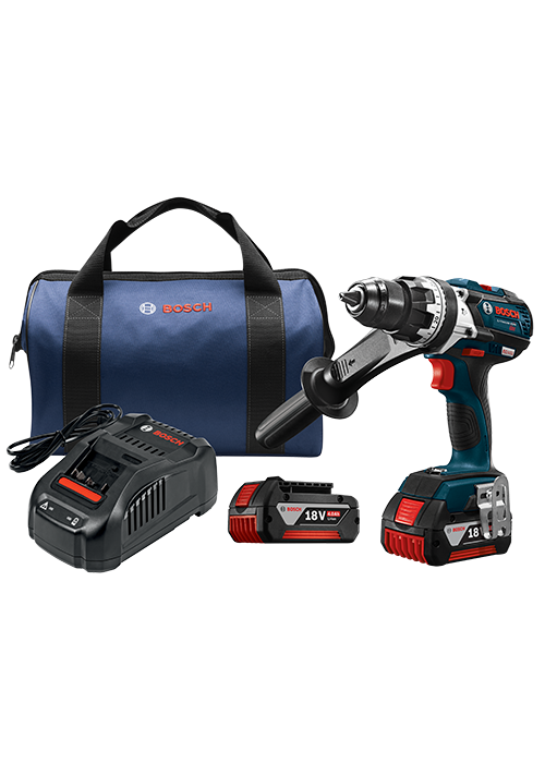 HDH183-01 18 V EC Brushless Brute Tough™ 1/2 In. Hammer Drill/Driver Kit